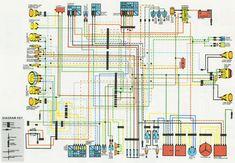 Elektrisch schema is af #bmw #r100 en #motogadget #munit #motoscope ...