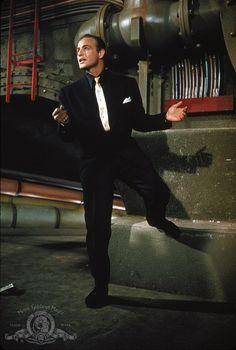 Marlon Brando in 'Guys and Dolls', 1955.