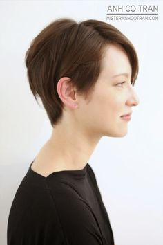 SHORT HAIR SUNDAY! Cut/Style: Anh Co Tran.
