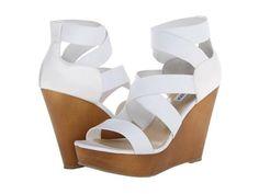 Sandalias blancas con plataforma 2014 http://zapatosd.info/sandalias-blancas-con-plataforma-2014/