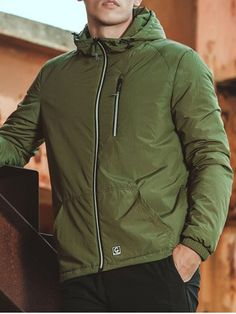 GET $50 NOW | Join RoseGal: Get YOUR $50 NOW!http://www.rosegal.com/mens-jackets/zippered-elastic-cuff-hooded-padded-930430.html?seid=8119039rg930430