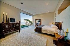 luxus villa cape town schlafzimmer