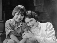 Jackie Coogan & Joan Crawford