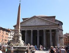 The Pantheon, sorry not the best photo!