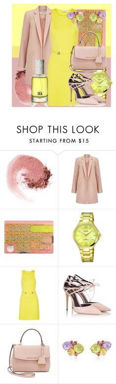 """Who dares? Who cares?"" by confusioninme ❤ liked on Polyvore featuring NARS Cosmetics, Miss Selfridge, Versace, Fratelli Karida, Michael Kors, Mia & Beverly and Andrea Maack"