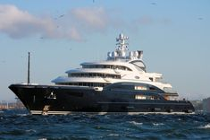 Photos of  yachts | Fincantieri Yachts, superyacht Serene pictured arriving in Gibraltar ...