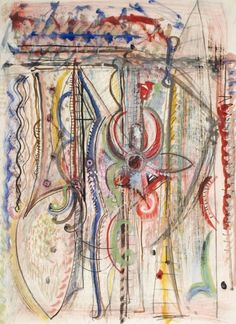 Chromatic Dream Richard Pousette-Dart (United States, Minnesota, Saint Paul, active New York, 1916-1992) 1940s Drawings; watercolors Ink, pencil, watercolor, and gouache