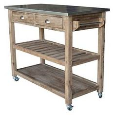 I Pinned This Savannah Kitchen Cart From The Clean Kitchen Event At Joss  And Main! Stow Cooking Essentials And Add Valuable Prep Space With This Muu2026
