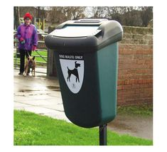Retriever dog waste bin can be attached directly to lamp posts or walls. Dog Bag, Garbage Can, Biodegradable Products, Best Dogs, Rid, How To Get, Puppies, Canning, Walls