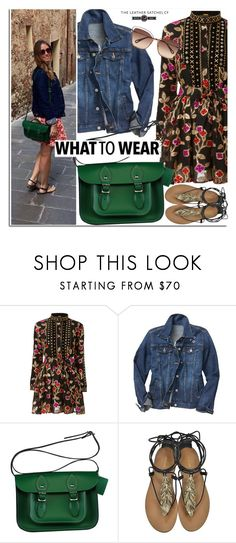 """""""Summer to Fall"""" by leathersatchel ❤ liked on Polyvore featuring Gap, Roberto Cavalli and Chloé"""