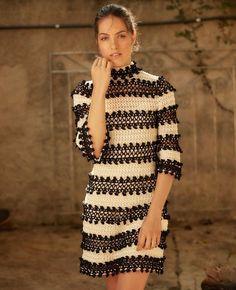 The Dress you dream with ❤ La Vie En Rose Dress  #Bcorporation #vanessamontorostyle #VanessaMontoroCrochet #Authentic #Timeless #Handmade