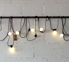 Lichterkette Glühbirnen von Walter Vintage Möbel & Accessoires