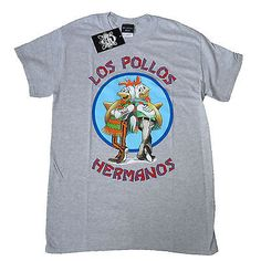 Breaking bad official los #pollos hermanos gus walter #white sports grey #t-shirt,  View more on the LINK: 	http://www.zeppy.io/product/gb/2/360965270287/