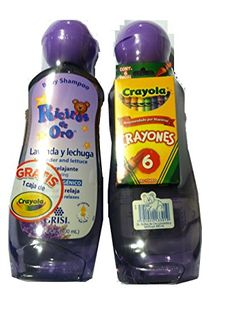 Ricitos de Oro (lavanda y lechuga) Baby Shampoo con Gratis 1 Caja de Crayola 13.5 Fl Oz/ 400 ML - READ REVIEW @ http://www.morebabystuffs.com/store/ricitos-de-oro-lavanda-y-lechuga-baby-shampoo-con-gratis-1-caja-de-crayola-13-5-fl-oz-400-ml/?a=4724