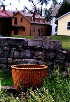 Mt. Lebanon Apple Basket, Canterbury Shaker Village, New Hampshire   Shaker Photographs - Shaker Workshops Photography Gallery - Martha Wetherbee
