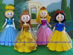 fofuchas princesas - Buscar con Google