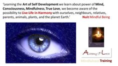 Mindfulness Twitter from Alchemy of Love (Nuit)