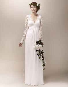 Robe de mariée créateur Max Chaoul