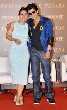 Manma video launch - Dilwale promotions with Kajol Nov 2015