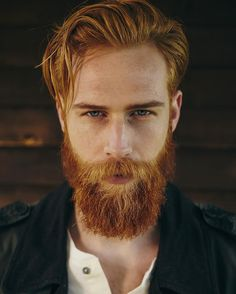 The guy just grew a beard, but she& obviously about . - The guy just grew a beard, but it clearly turned out to be magical, because it turned the life of i - Ginger Men, Ginger Beard, Ginger Hair, Red Beard, Man With Beard, Sexy Bart, Hair And Beard Styles, Long Hair Styles, Beards And Hair