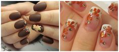 We suggest getting introduced to fall nail colors 2018 trends. Choose the most stylish fall nails 2018 options and stay updated about fall nail art designs. Fall Nail Art Designs, Nail Polish Designs, Acrylic Nail Designs, Nails Design, Fall Nails, Spring Nails, Blue Stiletto Nails, White Nails, Brown Nails