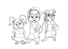 alvinandthechipmunkscoloringpages coloring pages alvin and - Theodore Chipmunk Coloring Pages