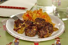 Geitmyras kjøttboller med rotmos