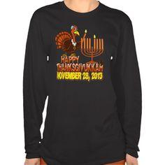 Happy Thanksgivukkah - Thankgiving Hanukkah Tshirt http://www.zazzle.com/happy_thanksgivukkah_thankgiving_hanukkah_tshirt-235232402416862261?rf=238675983783752015