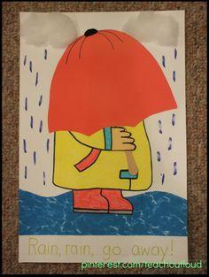 April Showers; #april #craft #crafts #elementary