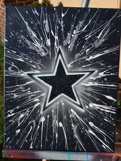 Dallas Cowboys fine art by Summo. $60.00, via Etsy.