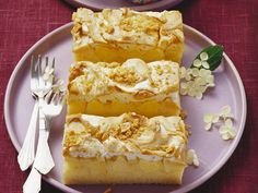 Dieser Kuchen macht glücklich! Apfelkuchen mit Erdnuss-Baiser-Topping - smarter - Zeit: 1 Std. 15 Min. | eatsmarter.de