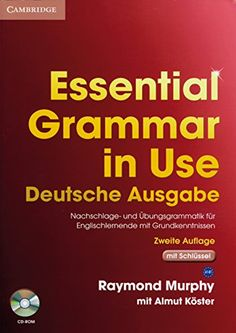 Essential Grammar in Use: Edition with answers. Edition with answers and CD-ROM von Raymond Murphy http://www.amazon.de/dp/3125395526/ref=cm_sw_r_pi_dp_R23twb0YET9R2