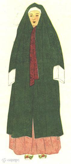 4[1]. 조선시대 여성 (장옷).jpg