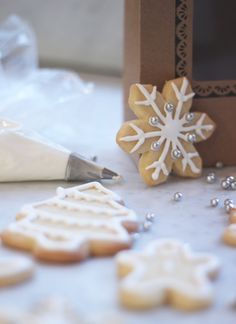 Zoella's Christmas Sugar Cookies Recipe. They look so cute and really simple to make!