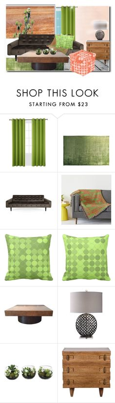 """""""Toying With Green Decor"""" by fallforit ❤ liked on Polyvore featuring interior, interiors, interior design, home, home decor, interior decorating, Sun Zero and Designers Guild"""