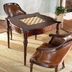 Delicieux Game Table Chess Table And Chairs