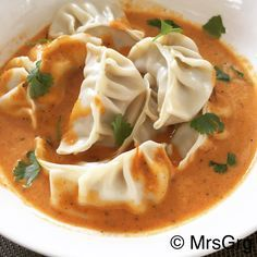 Jhol momo is very famous and much loved steamed Nepali dumplings served with jhol achar (soup). It is an easy find in any restaurants and street hawkers in Kathmandu. The jhol achar is in house spe…