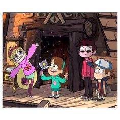 Gravity Falls and Stat vs the Forces of Evil crossover