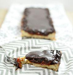 Blog di cucina di Aria: Tarte pomodori confit e cioccolato fondente