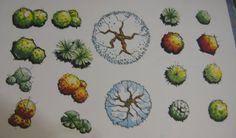 Landscape Trees by JoaquinFerrer on deviantART