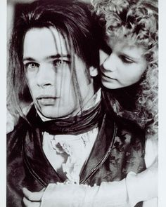 Interview With A Vampire- 1994 Brad Pitt & a young Kirsten Dunst