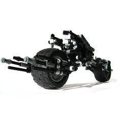 Batpod - Custom LEGO Element Model | 2008 | 232 pieces | My very first custom kit. A lot of memories together...