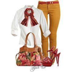 Autumn is my fashion inspiration!