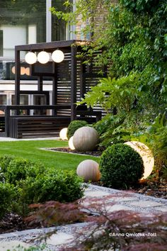 Japanese Garden Backyard, Modern Japanese Garden, Japanese Garden Landscape, Asian Garden, Japanese Garden London, Japanese Garden Lighting, Japanese Tree, Japanese Gardens, Garden Landscape Design
