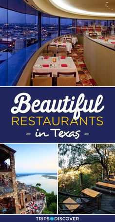 These 8 Breathtaking Texas Restaurants Will Make You Want to Reserve a Table ASAP, Weekend Vacations, Vacation Places, Texas Travel, California Travel, Travel Goals, Us Travel, Texas Restaurant, Affordable Vacations, Relaxing Holidays