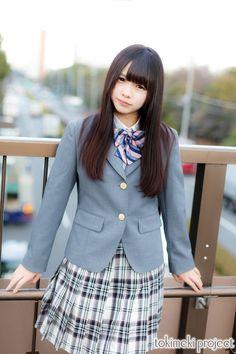 Cute School Uniforms, School Uniform Girls, Girls Uniforms, High School Girls, Japanese School Uniform, Lala, Cute Japanese Girl, Cosplay, Japan Girl