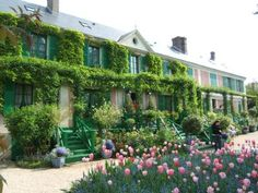Giverny, France.  Home of Monet.  ♥