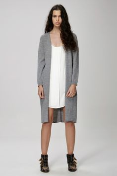 THE FIFTH FAR AWAY CARDIGAN grey marle