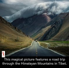 Road Trip: See an impressive mountain scenery. Clouds hugging the Rocky Mountains. Beautiful World, Beautiful Places, Beautiful Pictures, Beautiful Roads, Belle Photo, Amazing Nature, Beautiful Landscapes, The Great Outdoors, Wonders Of The World