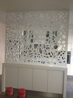 Ideas for privacy screen outdoor metal room dividers Metal Room Divider, Diy Room Divider, Room Dividers, Room Partition Designs, Plafond Design, Decorative Wall Panels, Metal Screen, Office Decor, Wall Decor